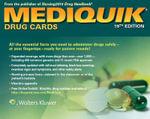 MediQuik Drug Cards : Mediquik - Carla Vitale