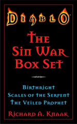 Diablo: The Sin War Box Set : Birthright, Scales of the Serpent, and The Veiled Prophet - Richard A. Knaak