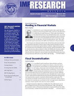IMF Research Bulletin, December 2008