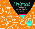 Animal Party Doodles Place Mats - Taro Gomi