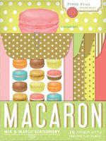 Macaron Mix & Match Stationery - Chronicle Books