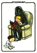 Darth Vader and Son Flexi Journal - Jeffrey Brown