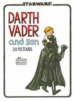 Darth Vader and Son Postcard Book - Jeffrey Brown