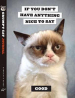 Grumpy Cat Flexi Journal - Chronicle Books