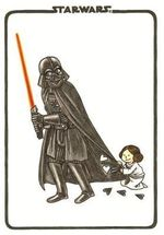 Vader's Little Princess Flexi Journal - Jeffrey Brown