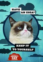Grumpy Cat Flexi Journal with Stickers - Grumpy Cat