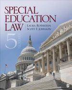 Special Education Law : Forensic and Clinical Strategies - Laura F. Rothstein