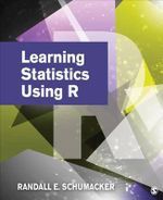 Learning Statistics Using R - Randall E. Schumacker