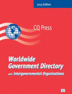 Worldwide Government Directory with International Organizations 2013 : National Organizations of the U.S.