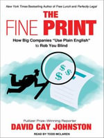 Fine Print : How Big Companies Use