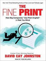 Fine Print : How Big Companies Use