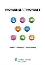 Properties of Property : Cambridge Introductions to Philosophy and Law (Har... - Alexander