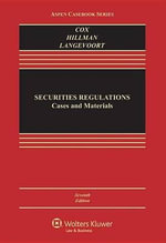 Securities Regulation : Cases and Materials - James D Cox