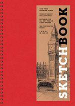 Sketchbook (Basic Medium Spiral Red) - Sterling Publishing Company