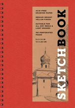 Sketchbook (Basic Small Spiral Red) - Sterling Publishing Company