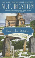 Death of an Outsider : Hamish Macbeth Mysteries (Paperback) - M C Beaton