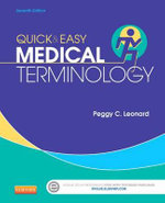 Quick & Easy Medical Terminology : Singers Who Act and Actors Who Sing: A Biographica... - Peggy C. Leonard