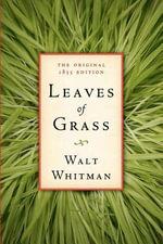 Leaves of Grass : The Original 1855 Edition - Walt Whitman