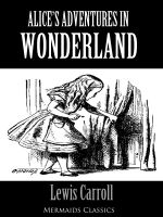 Alice's Adventures in Wonderland - An Original Classic (Mermaids Classics) - Lewis Carroll