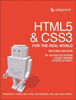 HTML5 & CSS3 For The Real World - Alexis Goldstein