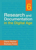 Research and Documentation in the Digital Age - University Diana Hacker