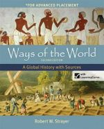 Ways of the World with Sources for AP* with Launchpad & E-Book 2e (6-Yr Access Card) : A Global History with Sources, for Advanced Placement with Bedford E-Book - Robert W Strayer