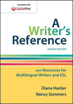 A Writer's Reference with Resources for Multilingual Writers and ESL - University Diana Hacker