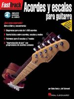 Acordes y escalas para guitarra : Spanish Edition - Jeff Schroedl
