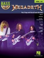Megadeth : Bass Play-Along Volume 44