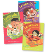 Legends (In Their Own Lunchbox) Set 1 : Reading Level 15 - 22 - various
