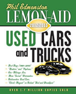 Lemon-Aid Used Cars and Trucks 2012-2013 - Phil Edmonston