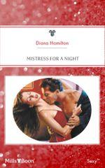 Mistress For A Night : Do Not Disturb Book 5 - Diana Hamilton
