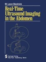Real-time Ultrasound Imaging in the Abdomen - M. Leon Skolnick