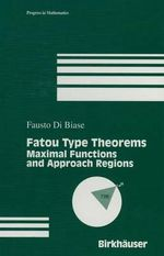 Fatou Type Theorems - F. Di Biase