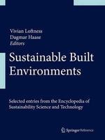 Sustainable Built Environments : The Carbon Connection