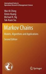 Markov Chains : Principles, Concepts, and Practical Applications - Wai-Ki Ching