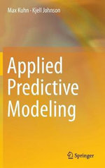 Applied Predictive Modeling - Max Kuhn