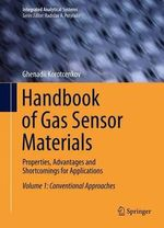 Handbook of Gas Sensor Materials - Ghenadii Korotcenkov