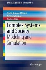 Complex Systems and Society - Nicola Bellomo