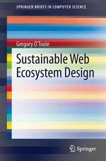Sustainable Web Ecosystem Design : Interactive 3D Graphics Programming with WebGL - Gregory O'Toole