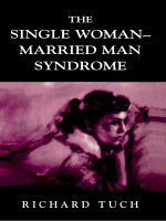 The Single Woman-Married Man Syndrome - Richard Tuch