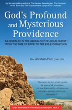 God's Profound and Mysterious Providence : As revealed in the Genealogy of Jesus Christ from the Time of David to the Exile in Babylon - Abraham Park