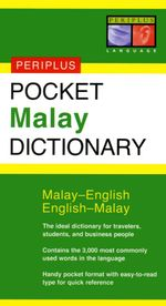 Pocket Malay Dictionary : Malay-English English-Malay - Zuraidah Omar