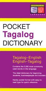 Pocket Tagalog Dictionary : Tagalog-English English-Tagalog - Renato Perdon