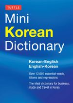 Tuttle Mini Korean Dictionary : Korean-English English-Korean