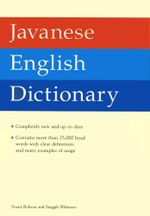 Javanese English Dictionary - Stuart Robson