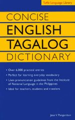 Concise English Tagalog Dictionary - Jose Villa Panganiban