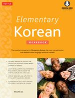 Elementary Korean Workbook : (Downloadable Audio Included) - Insun Lee