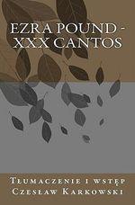 XXX Cantos - Ezra Pound