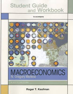 Study Guide for Macroeconomics : Ebook Access - University N Gregory Mankiw